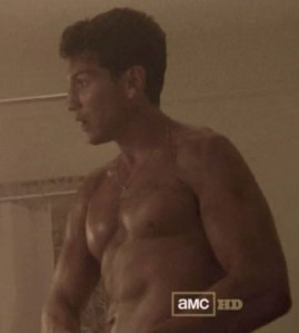 jon bernthal shirtless walking dead
