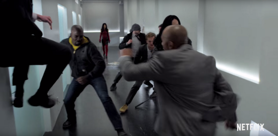marvel-the-defenders-trailer-breakdown-analysis-hallway-fight-elektra