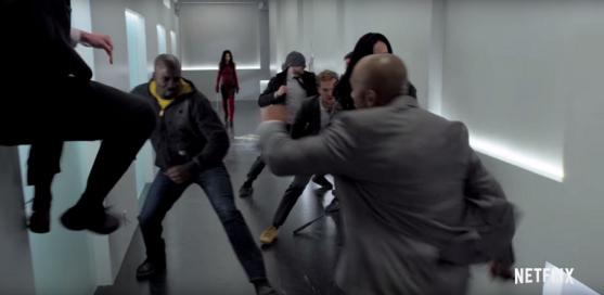 marvel-the-defenders-trailer-breakdown-analysis-hallway-fight-elektra